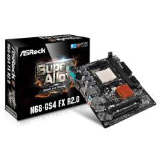 Foto ASRock N68-GS4 FX R2.0 (AM3+ DDR3 1866) - Chipset GeForce 7025 | Oficina dos Bits*