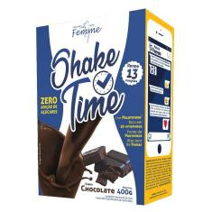 1d6f1967a Foto Shake Time Substituto de Refeição Apisnutri Chocolate 13 porções