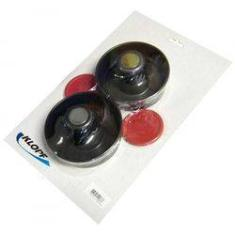 Foto Kit de Aero Hockey Air Game Klopf 2037 - 02 Rebatedores e 02 Discos | Shoptime