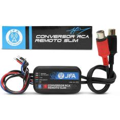 Foto Adaptador Fio Conversor RCA Remoto Slim JFA 12V para MP3 e Players Sem Saída RCA | Connect Parts*