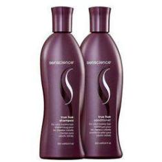 Foto Kit Shampoo 300ml E Condicionador 300ml Senscience True Hue - Pequeno | Americanas