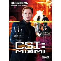 Foto DVD CSI Miami - 3ª Temporada - Volume 3 | Shoptime