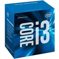Foto Processador Intel 6100 Core I3, LGA 1151, 3.70 GHz, Box - BX80662I36100-6ª Ger | Amazon