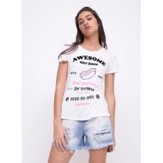 Foto Blusa Hot Dogs OFF-WHITE | Youcom