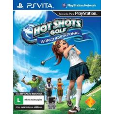 Foto Hot Shots Golf World Invitational - Ps Vita | Saraiva -