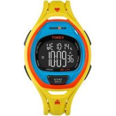 Relógio de Pulso Timex Digital Cronômetro Shoptime   Joalheria ... e0c56646e3