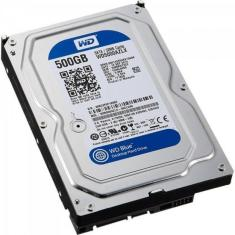 "Foto HD Interno SATA 3,5"" 500GB SATA III 7200 RPM Blue WESTERN DIGITAL 