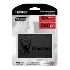 Foto Hd Ssd 240gb A400 2,5 Sata Kingston | Magazine Luiza.