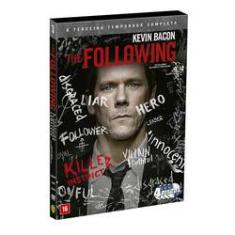 Foto Dvd Box - The Following - Terceira Temporada | Americanas