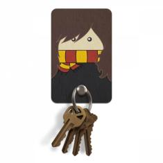 Foto Porta Chaves Ecológico Harry Potter Hermione - Artgeek | Webcontinental