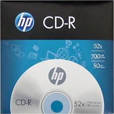 Foto CD-R HP Gravável Envelope, CIS, 46.3015, Prata | Amazon