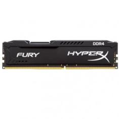 Foto Memória RAM Kingston HyperX Fury 8GB DDR4 2400MHz Preto | ShoppingTudoTem*