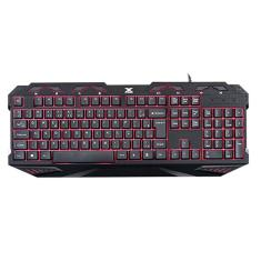Foto Teclado Usb Gamer Multimidia Fenix com Backlight 3 Cores   VINIK | BestPlus*