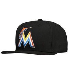 Foto Boné New Era MLB Miami Marlins 5950 Preto  00f775a7a3c