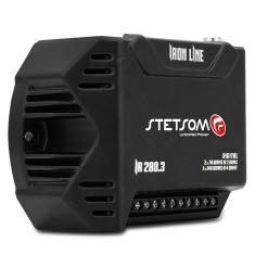 Foto Módulo Amplificador Stetsom Iron Line IR280.3 280W RMS 3 Canais 2 Ohms Digital | Connect Parts*