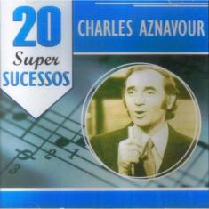 Foto Charles Aznavour 20 Super Sucessos Cd Jazz | Webcontinental
