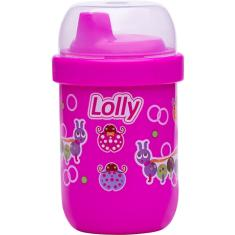 Foto COPO ANTIVAZAMENTO LOLLY ZOO ROSA 250ML | Força Ideal Suplementos*