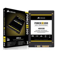 Foto SSD - 2,5pol / SATA3 - 480GB - Corsair Force LE200 - CSSD-F480GBLE200B | Amazon