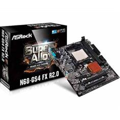 Foto Placa Mae ASROCK Micro ATX (AM3/AM3+) - N68-GS4 FX R2.0 | Amazon