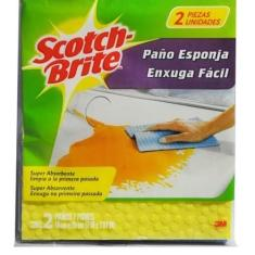 Foto Pano enxuga fácil - SCOTCH-BRITE - 3M | Amazon