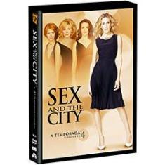Foto DVD Sex And The City 4ª Temporada (3 Discos) | Shoptime