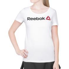 fc60ac413e5 Foto Camiseta Reebok Linear RE Branca