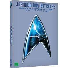 Foto Box DVD Jornada Nas Estrelas - The Original Motion Picture Collection - 6 Discos | Saraiva -