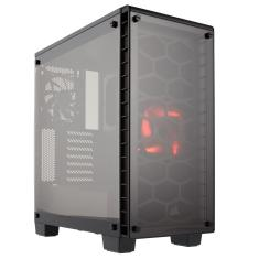 Foto Gabinete Gamer Corsair Crystal Series 460X, Mid Tower, CC-9011099-WW - Preto com Vidro, Sem Fonte | Intersolução*