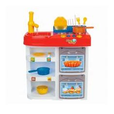 Foto Master Chef Kids Com Avental Forno Fogão Pia Magic Toys MAT-8035 | Magazine Luiza.