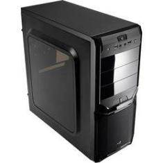 Foto Gabinete Gamer Mid Tower V3x Window Preto Aerocool | Submarino