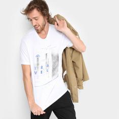 Foto Camiseta TREEBO Wild Tour Masculina - Masculino  b8d51d4362f6d