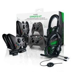 Foto Kit Gamer Para Xbox Headset Carregador Dual Dock Case DGXB1-6631 Dreamgear | BestPlus*