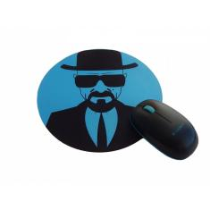 Foto Mousepad Redondo Breaking Bad Walt Blue - Artgeek | Webcontinental