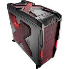 Foto Gabinete Gamer Aerocool Atx Strike-x Advance Red - En58032 | Shoptime