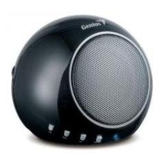 Foto Caixa de Som Portátil Genius SP-i300 - MP3 Player - Bateria Recarregável - 2W RMS - 3173098410 | Amazon
