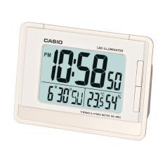 9a0b48b4c47 Foto Relógio despertador digital Casio Branco