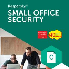 Foto Kaspersky Small Office Security - 10 Desktops + 1 Servidor - 1 Ano | Saraiva -