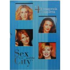 Foto DVD Sex and The City 4ª Temporada Completa | Walmart -