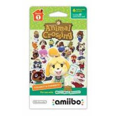 Foto Cartas Amiibo Animal Crossing Cards 6-Pack Series 1 - Wii U / New 3ds | Americanas