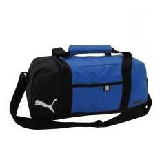 Foto Mala Puma FUNDAMENTALS SPORTS M - Puma - Black/Blue. | Magazine Luiza.