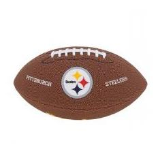Foto Bola Futebol Americano Junior NFL Pittsburgh Steelers - Wilson | Magazine Luiza.