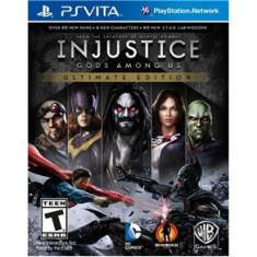 Foto Injustice: Gods Among Us Ultimate Edition - PS Vita | Pontofrio -