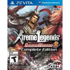 Foto Jogo PS Vita Xtreme Legends Dynasty Warriors 8 -Koei | Amazon