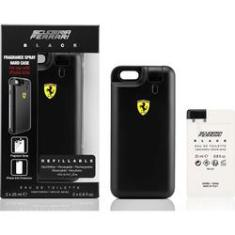 Foto Kit Perfume Iphone Cover Ferrari Black 2 X 25 ml | Walmart -
