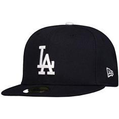 Boné New Era MLB Los Angeles Dodgers 5950 Preto a36e7464e49