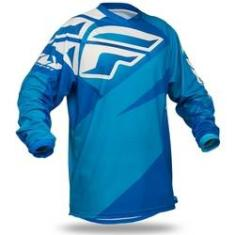 Foto Camisa Fly F16 Off Road - Azul | Shoptime