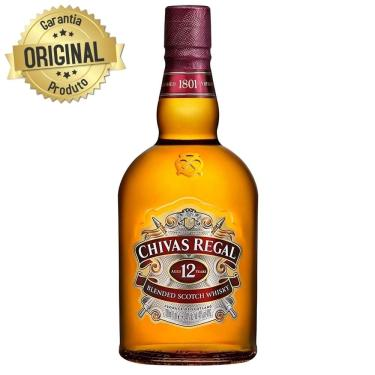 Whisky Chivas Regal 12 Anos - 1L