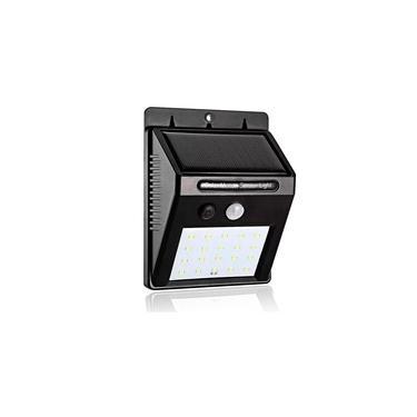 Refletor Balizador Solar Sensor De Presença Sem Fio Externo