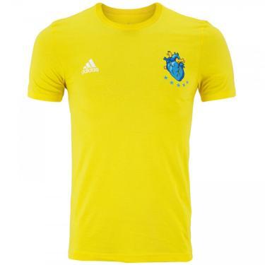 Camisa adidas Fred Torcedor - Masculina adidas Masculino