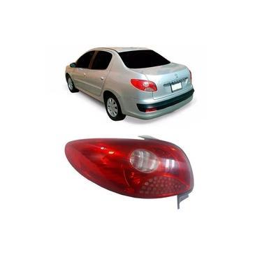Lanterna Traseira - Peugeot 207 Sedan 2008 2009 2010 2011 - Rubi - Fitam